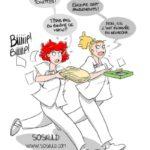 aide-soignants vêtu en blouse blanche