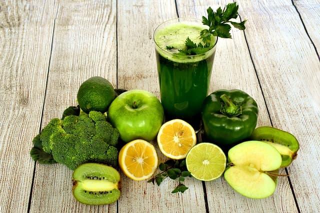 Les légumes et les fruits frais pour la santé